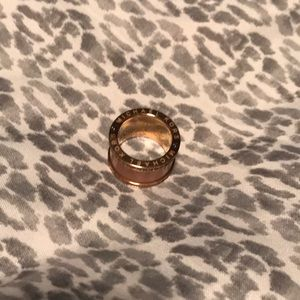 MK rose gold ring